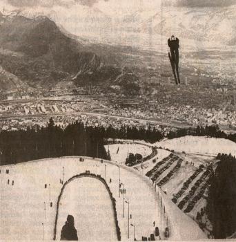 sauteur tremplin JO Grenoble 68
