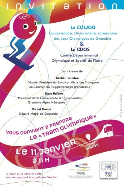 Tram Olympique Grenoble